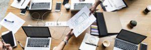 Vertriebsunterstützung-Softwareunternehmen